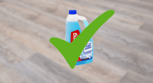 Is Cleaning Products Safe for Vinyl Planks