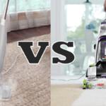 Steam Cleaner vs Carpet Cleaner