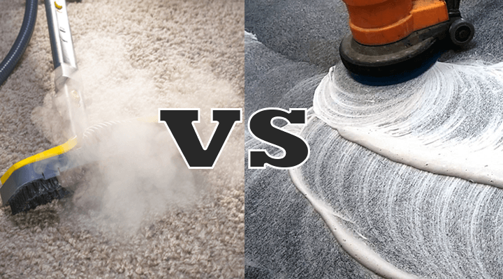 Steam Cleaning Carpets vs Shampooing