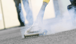 How Does a Steam Cleaner Work on Carpet