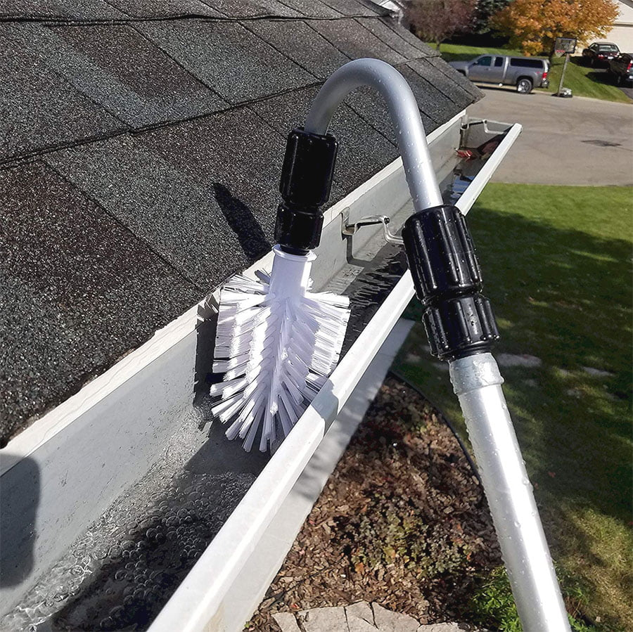 gutter cleaning tools for 2 story house