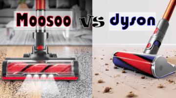Moosoo K17 vs Dyson Cyclone V10
