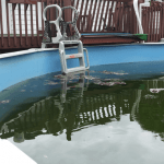 How to Clean a Green Above Ground Pool