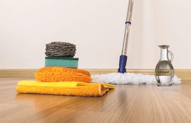 Homemade Vinyl Floor Cleaner