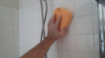 How to Clean Soap Scum from Tile and Grout