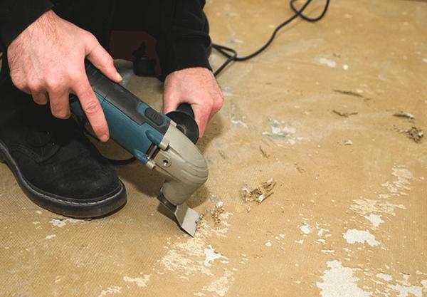How to Remove Linoleum from Wood Floor