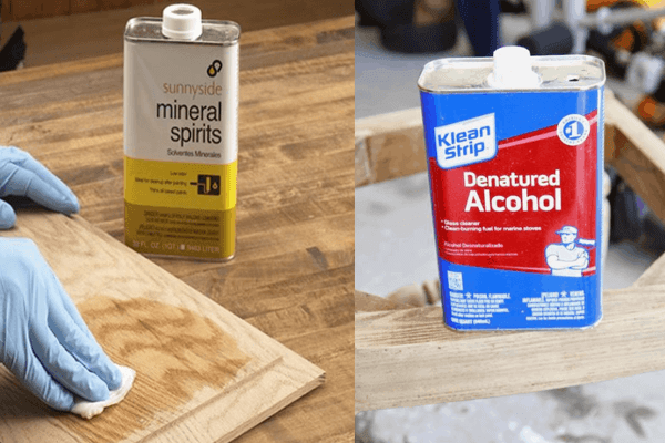 Denatured Alcohol VS Mineral Spirits