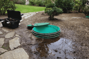 How to Fix a Septic Tank Full of Water When It Rains