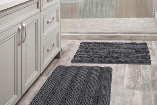 Bathroom Rugs Safe for Vinyl Flooring