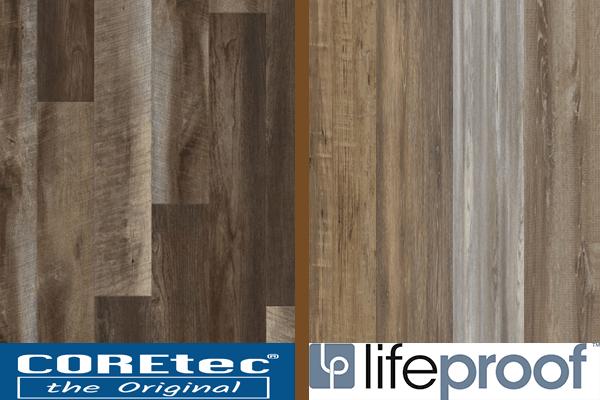 Coretec Vs Lifeproof Vinyl Flooring