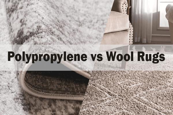 Polypropylene Rugs vs Wool