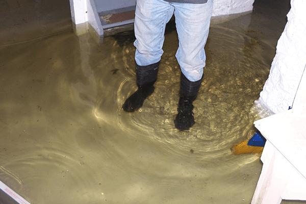 Sewage Backup In Basement Health Risks
