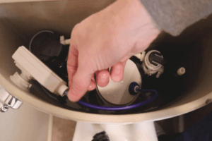 Jacuzzi Dual Flush Toilet Keeps Running