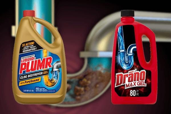 Liquid Plumr Vs Drano