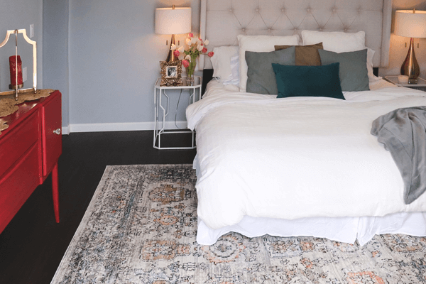 What Size Rug For King Bed