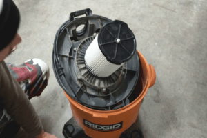 How to Remove Filter from Ridgid Shop Vac