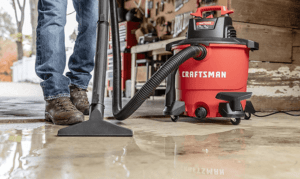 How to Use Craftsman Wet/Dry Vac for Water