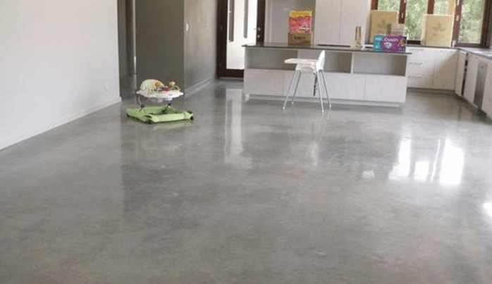How to Clean Sealed Concrete Floors