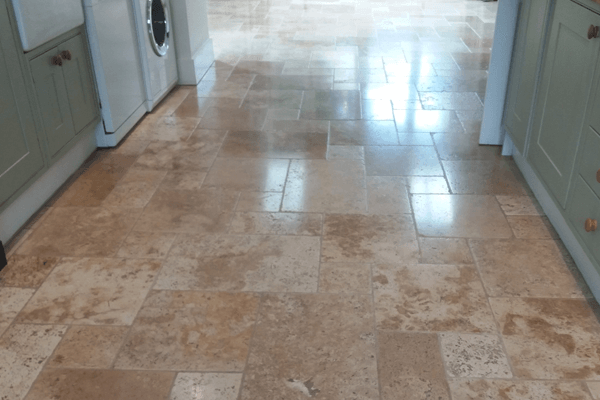 How to Deep Clean Travertine Floors